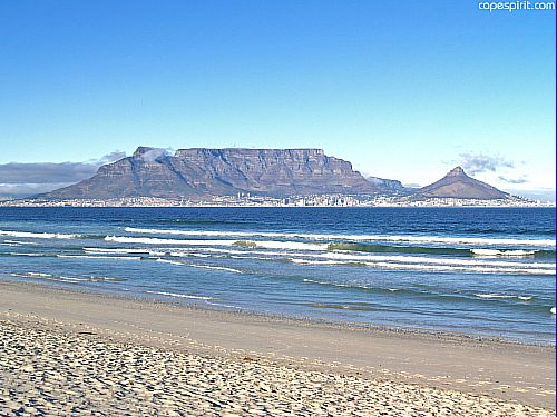 Tafelberg bij Kaaps…